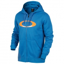 Oakley Driver Ellipse Front Zip Hoodie California Blue