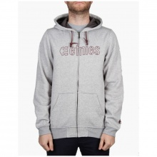 Etnies Corporate Stitch Zip Fleece Grey Heather