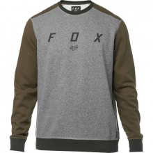 Fox Destrakt Crew Fleece Heather Graphite