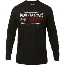 Fox Global Ls Tee Black