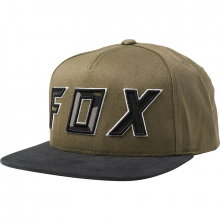 Fox Possed Snapback Hat Olive Green